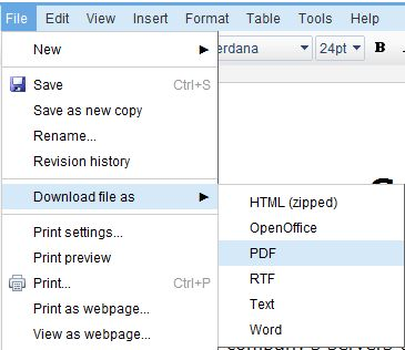how to save html as pdf