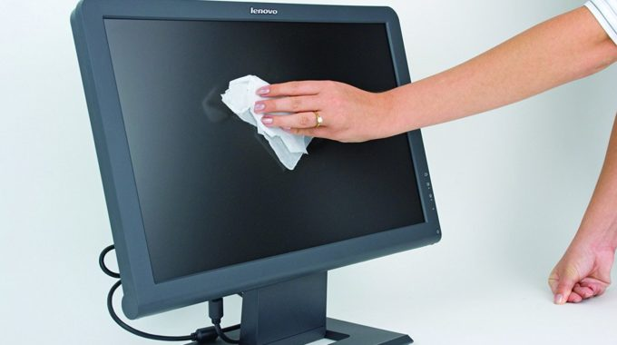 How To Cheaply Clean Your Monitor Screens