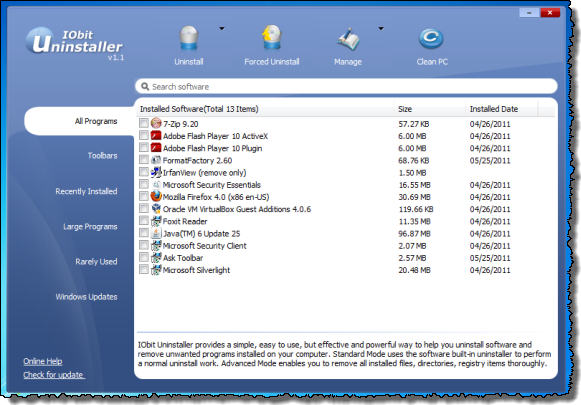 Deleting Leftover Files from Program Uninstallation - Page 2