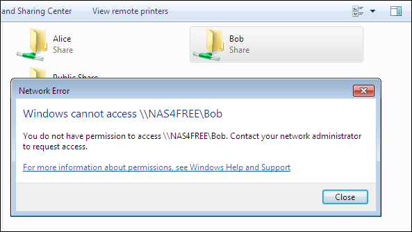 Installing and Configuring NAS4Free on a Windows Network