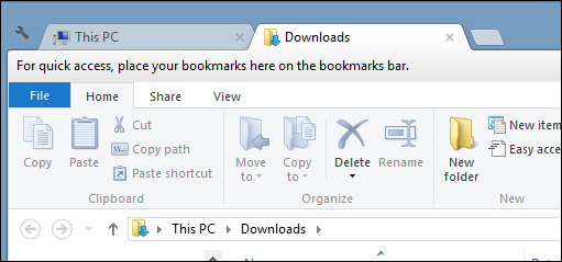 Tabs in File Explorer!