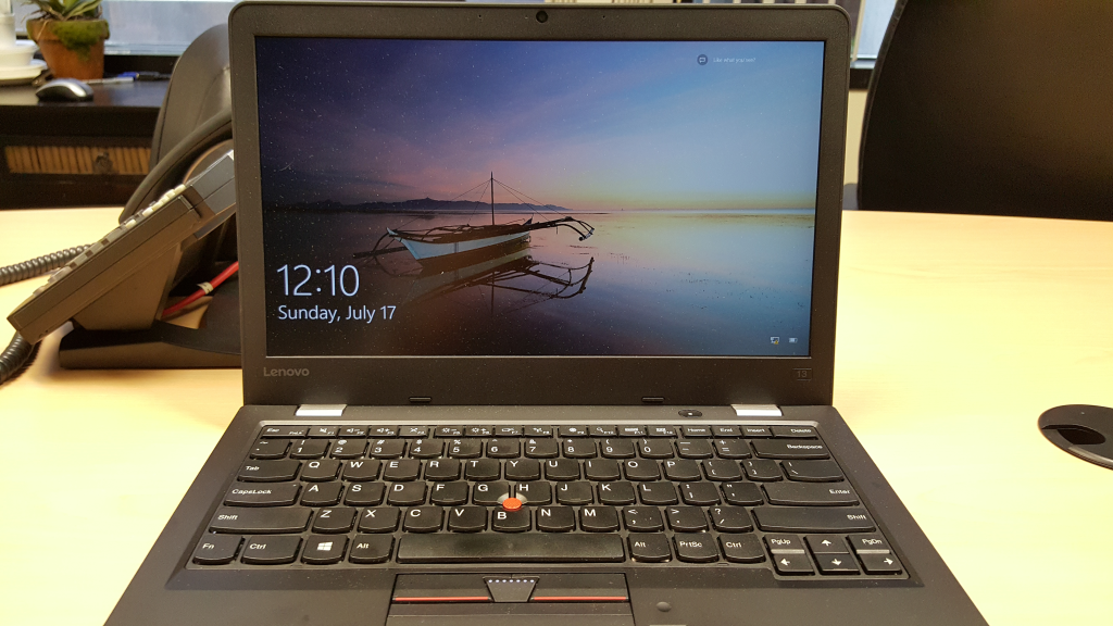 Thinkpad 13 Opened View