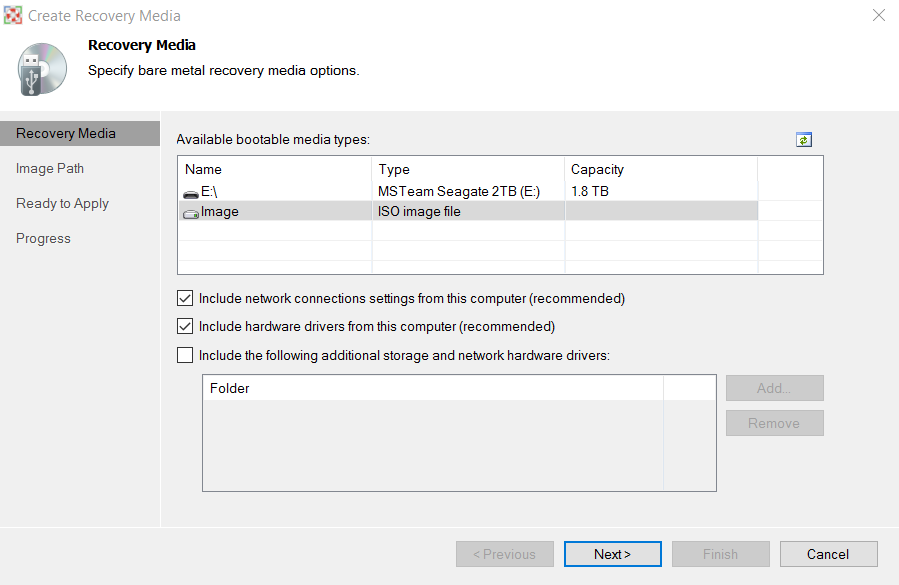 Windows Backup & HDD Migration with Free Veeam Endpoint