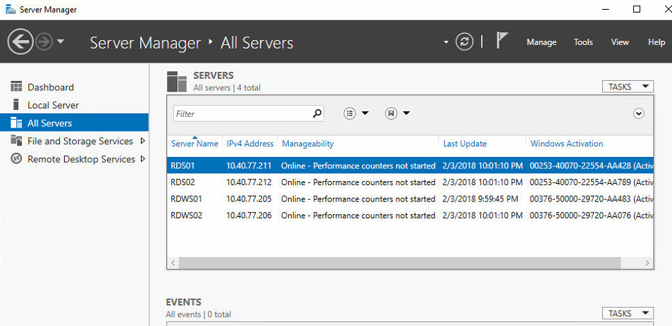 Building a Redundant Microsoft 2016 RDS Farm with Netscaler